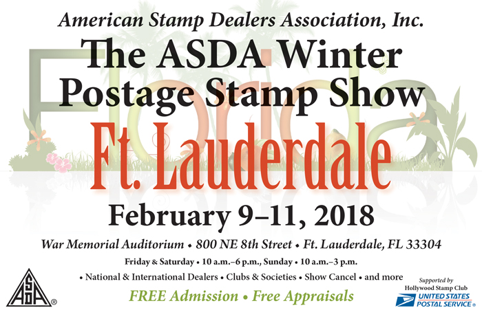 ASDA Winter Postage Stamp Show 2018